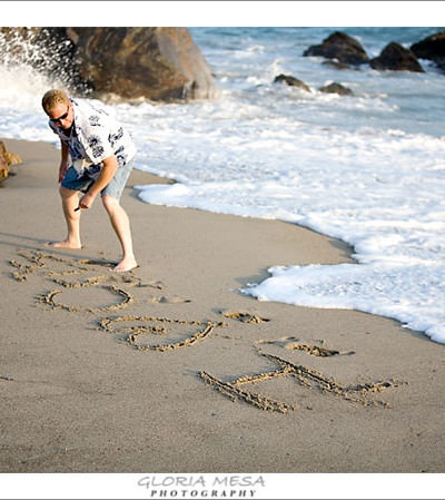 Engagement Session at Point Dume Beach in Malibu |  Calamigos Ranch Malibu