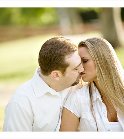 Engagement Session at the Botanical Gardens
