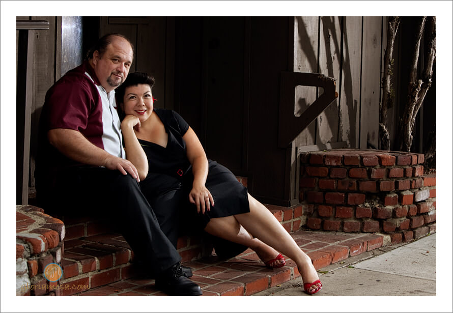 Albert and Christina Engagement Session in Burbank