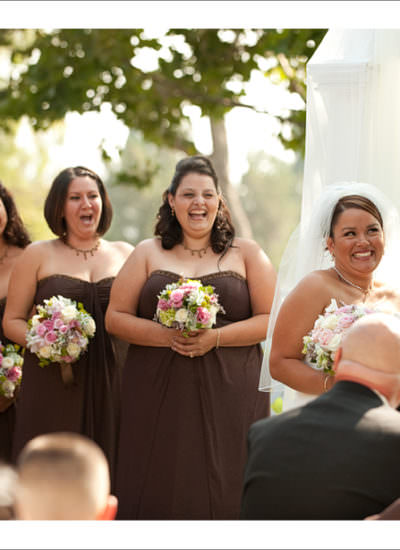 Wedding at the Porter Ranch Country Club
