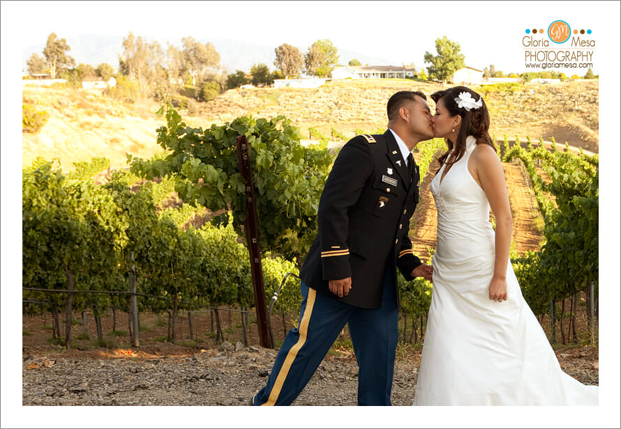 Temecula Wedding Photography: Stuart Cellars Winery - Gloria Mesa