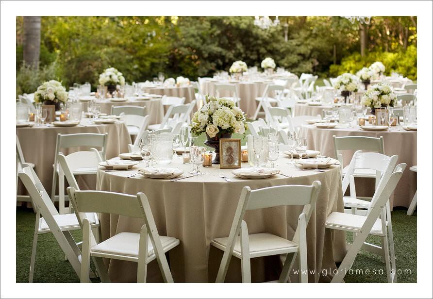 Regency garden mesa wedding