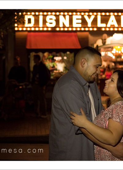 Disneyland Engagement Sessions |  Orange County |  April and Robert