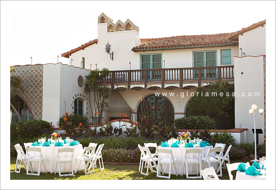 Adamson house museum wedding amy and matt potter wedding for Malibu house rentals for weddings