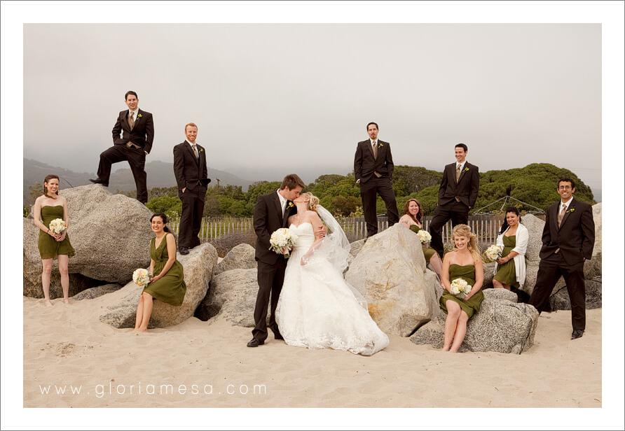 Rincon Beach Club Santa Barbara Wedding