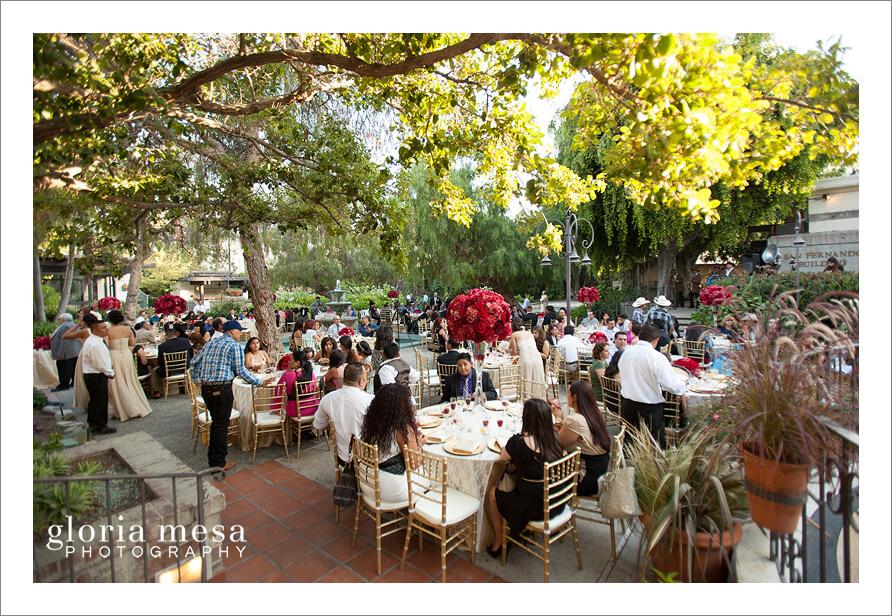 Los Angeles River Center Gardens Wedding Agustin And Jacqueline Wedding Gloria Mesa Wedding