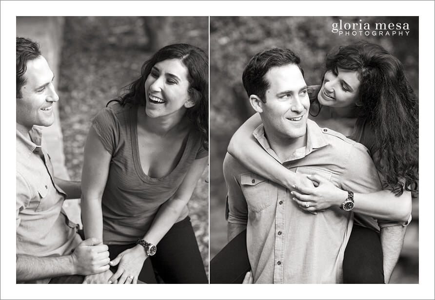 Candid, moments, black and white, engagement session