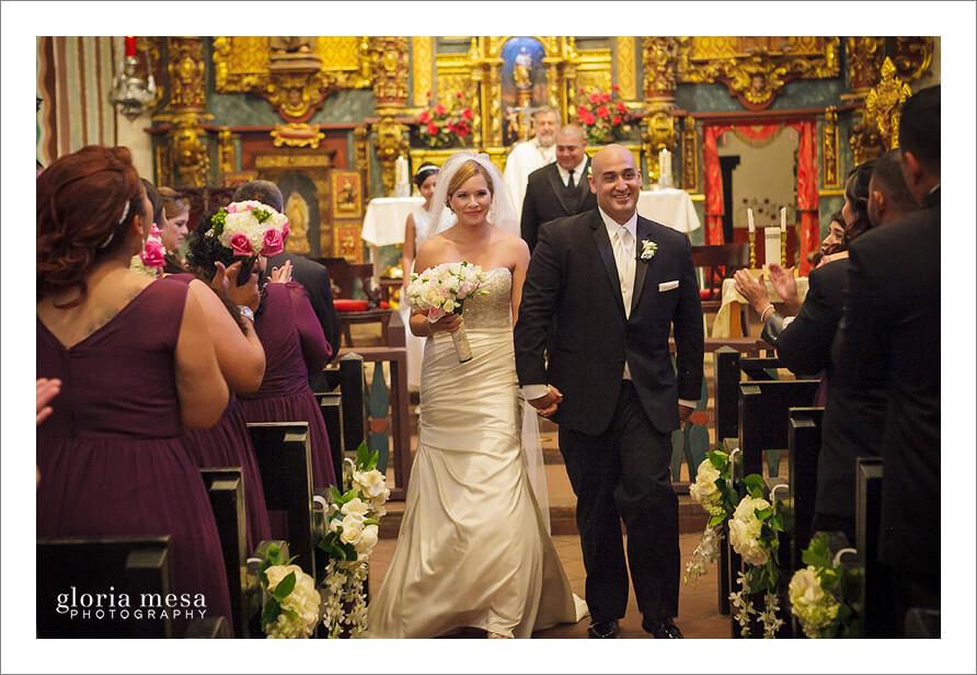 San fernando mission wedding