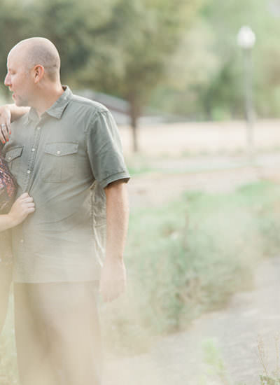 Engagement session by Gloria Mesa Photography in Piru Lake California.