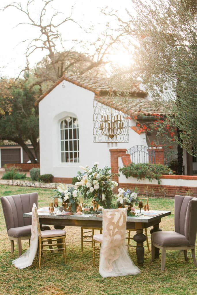 Spanish house at Quail Ranch