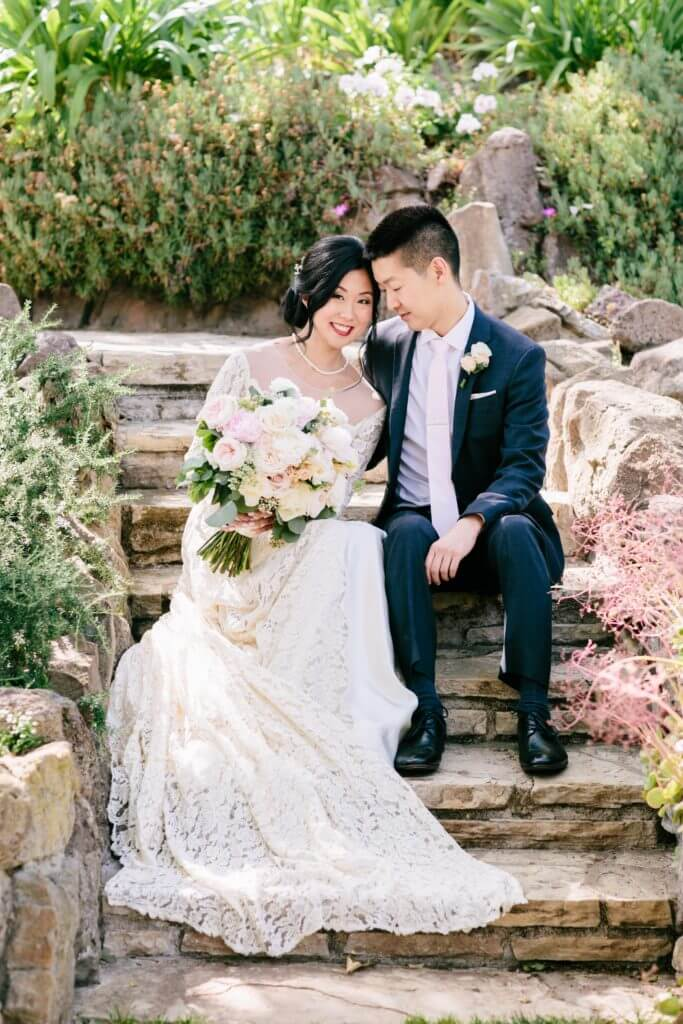 Jaoanese, groom, bride, quail ranch, hoste events
