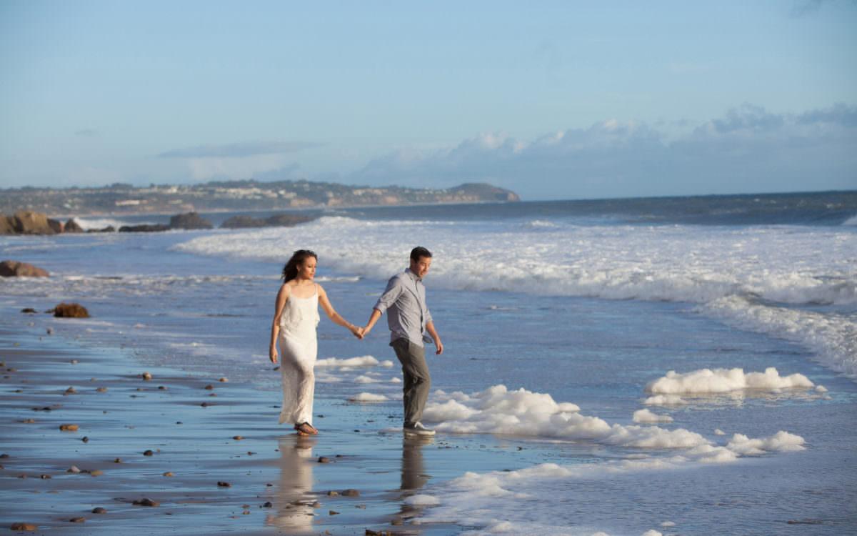 Engagement Session -  El Matador Beach