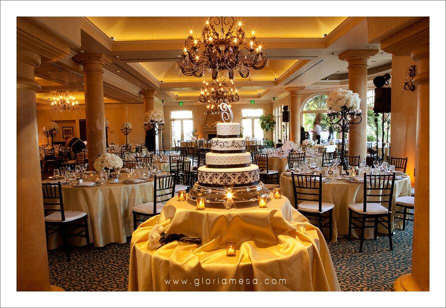 Camarillo California Spanish Country Club Weddings Jill Creations D J Phil Bird